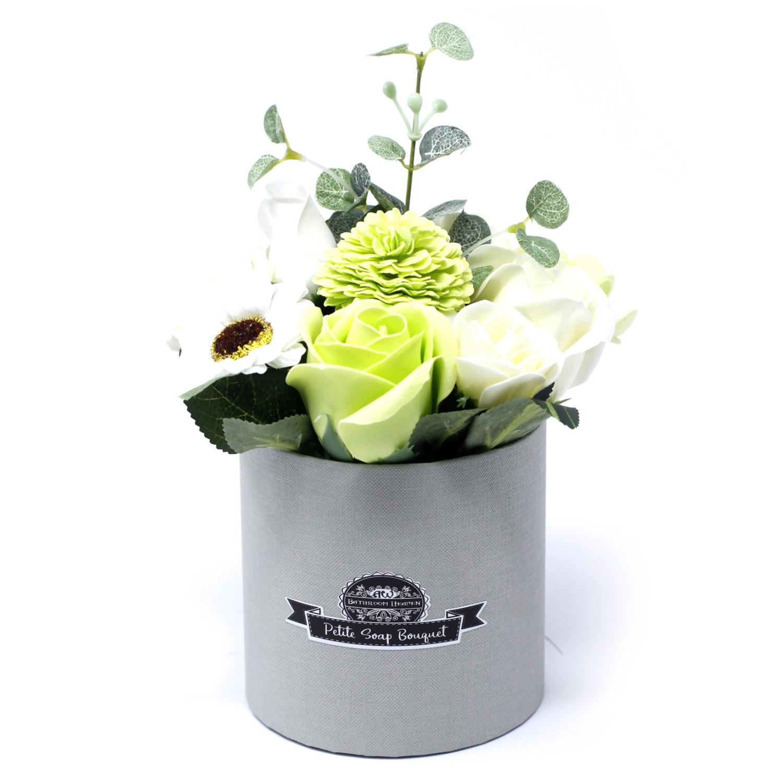 Bouquet Petite Gift Pot Pastel Greens