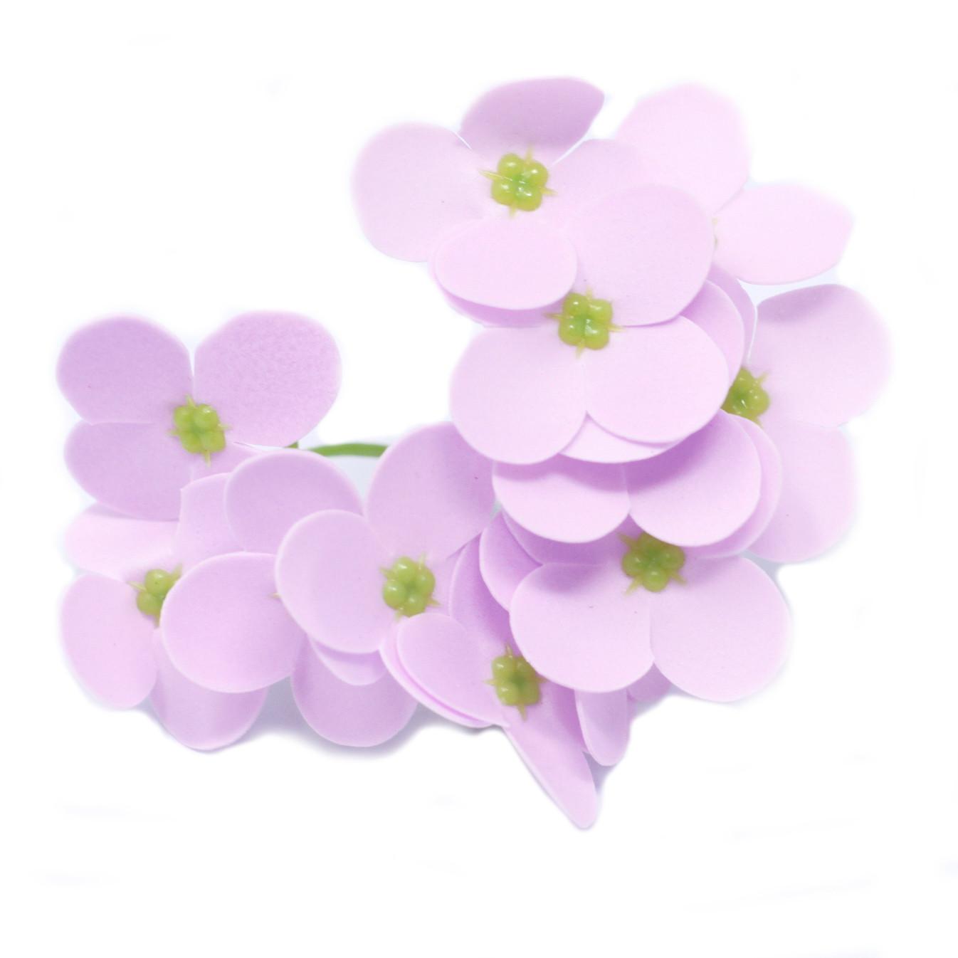 Craft Soap Flowers Hyacinth Bean Lavender
