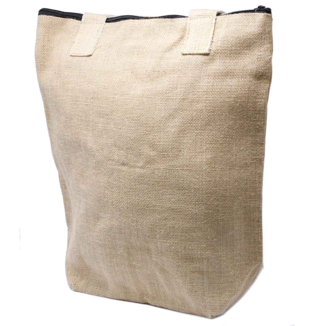 Eco Jute Bag Blank Design