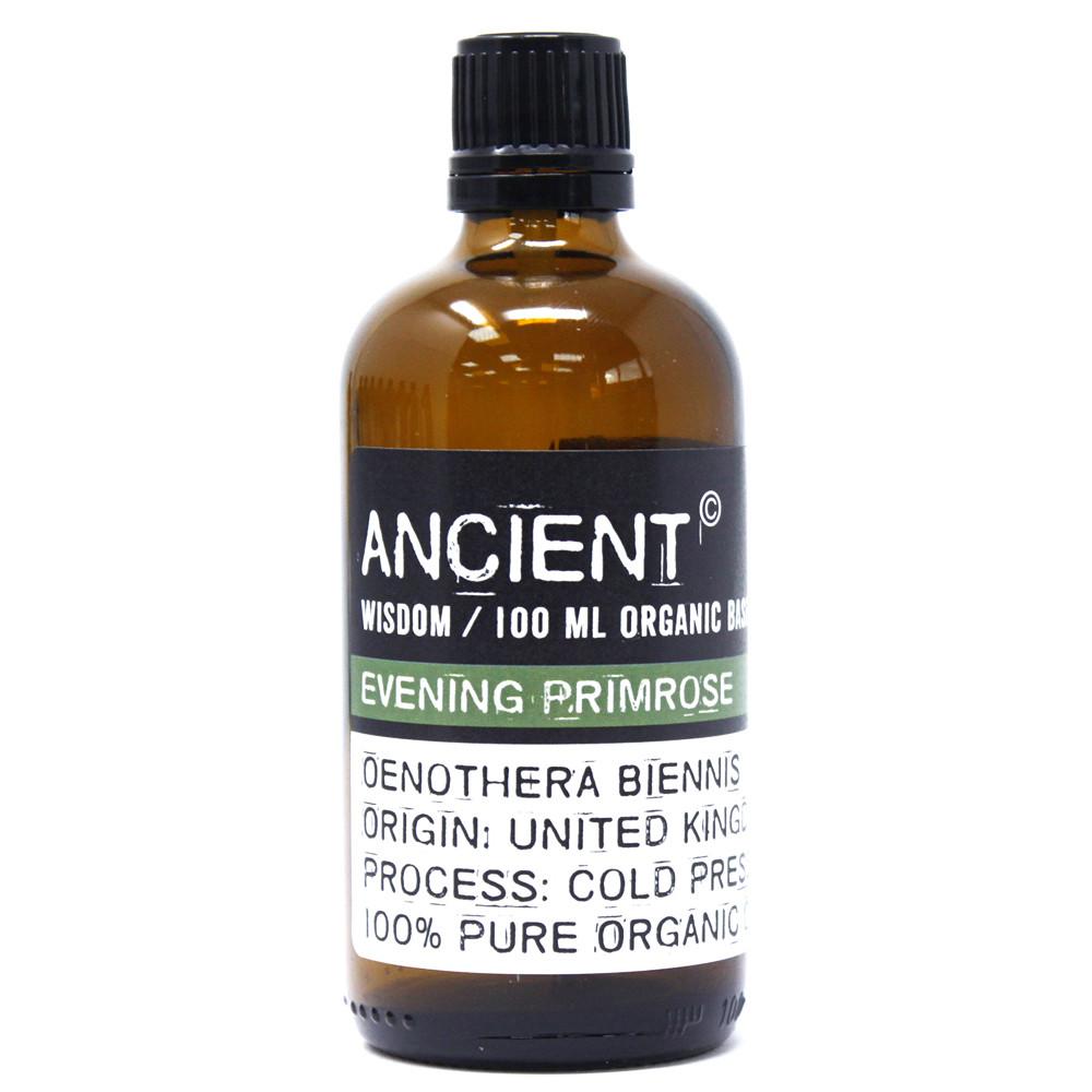 Evening Primrose Organic Base Oil 100ml