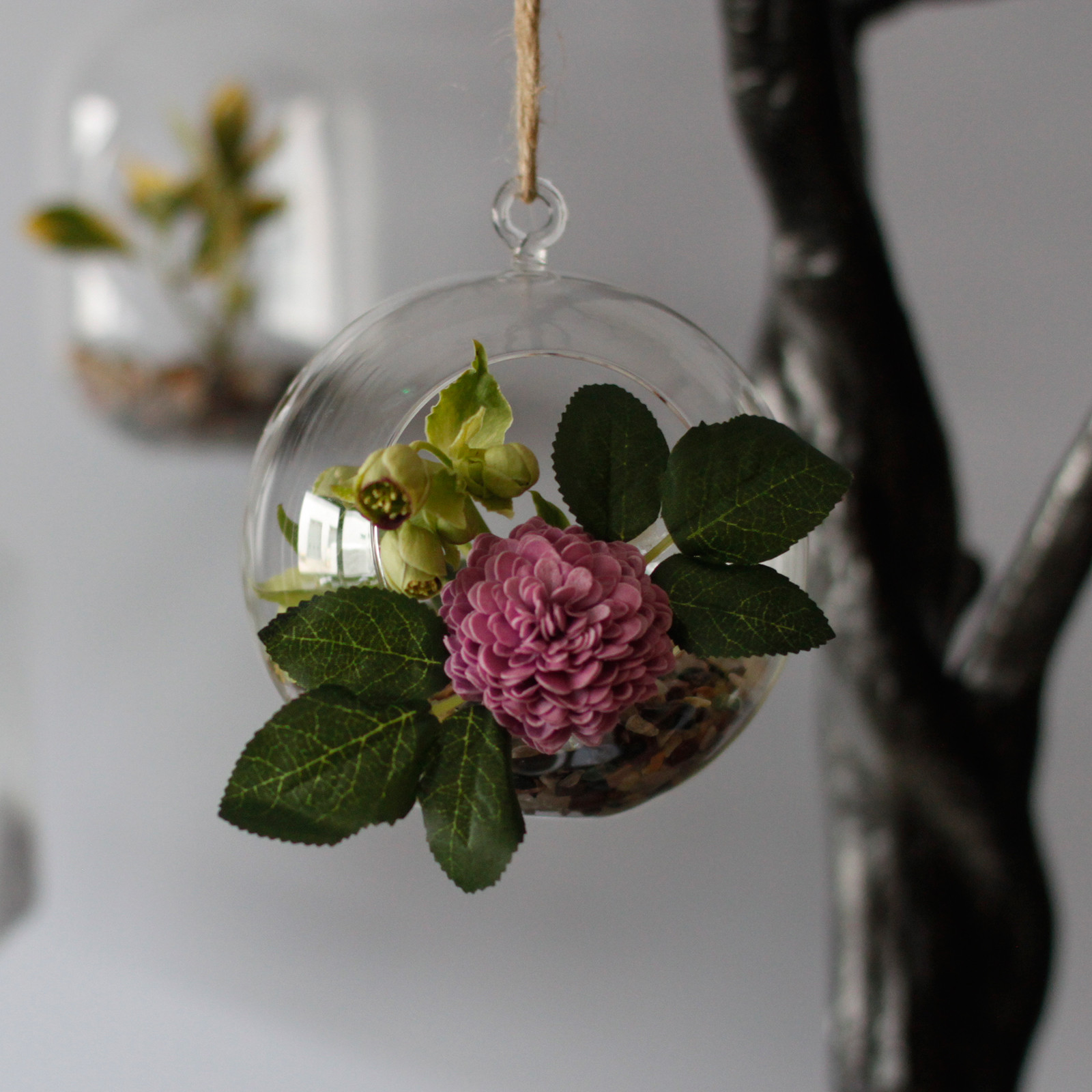 All Glass Terrarium Globe Hanging Bowl Aw Dropship Your Giftware And Aromatherapy Dropshipping Supplier