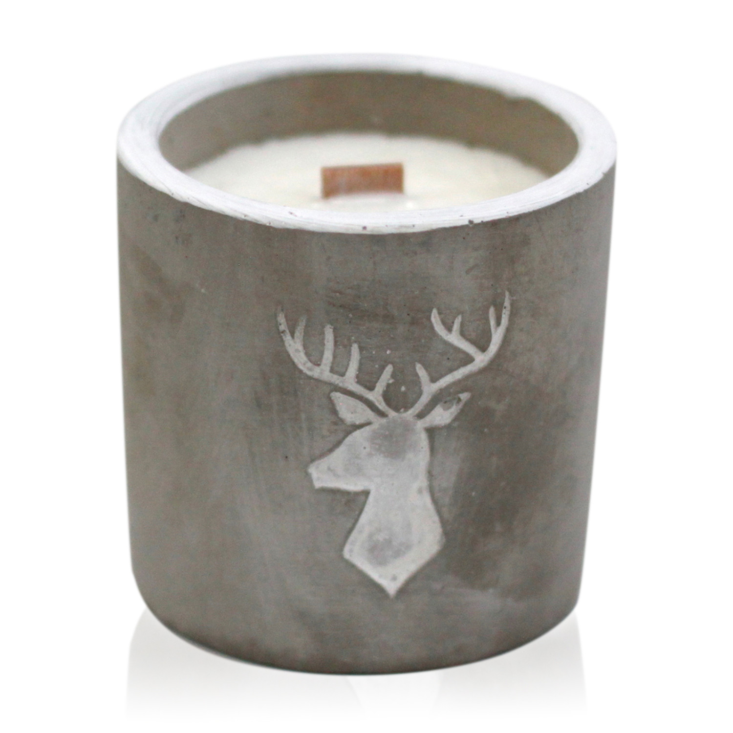 Med Pot Stag Head Whiskey and Woodsmoke