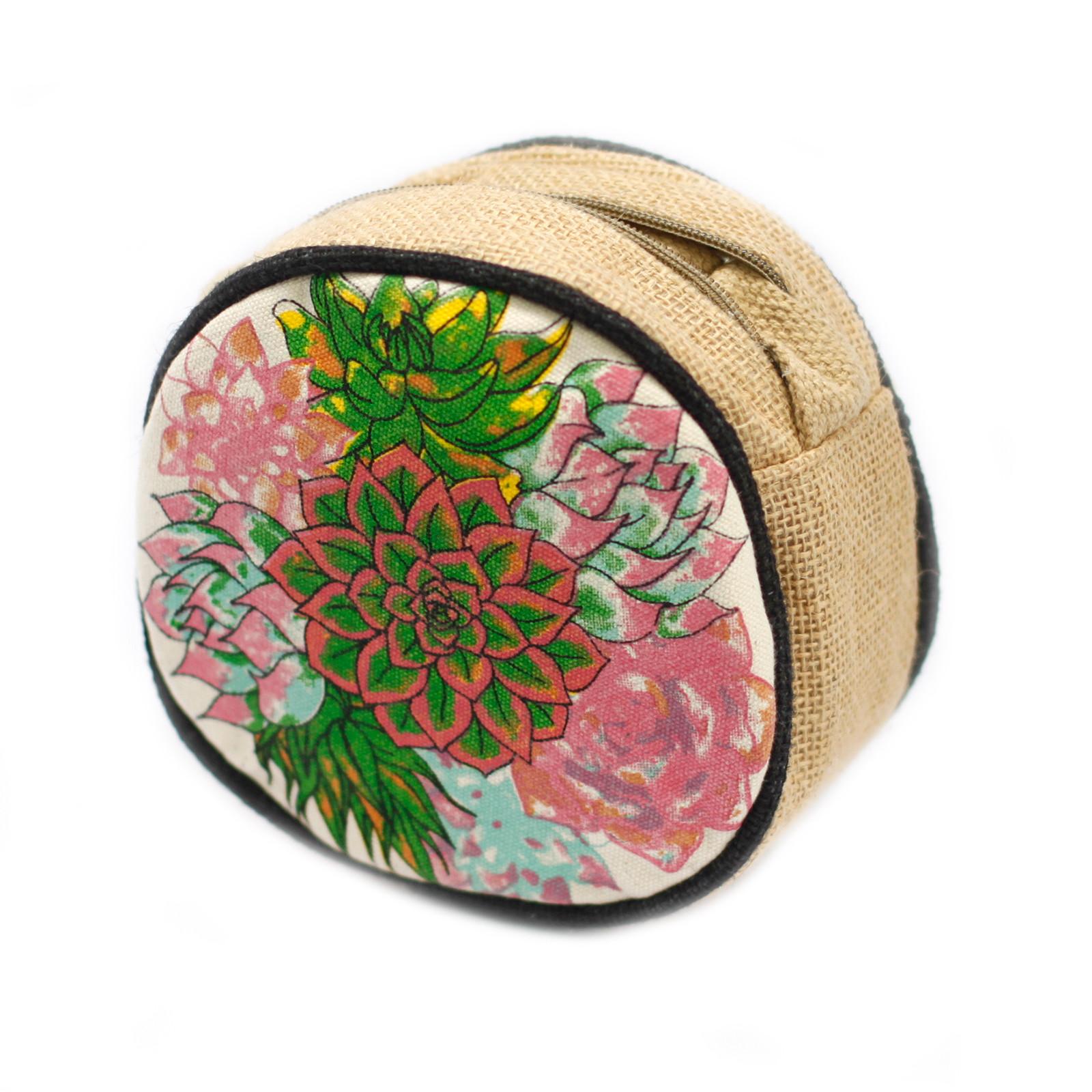 Eco Round Bag Small Cactus