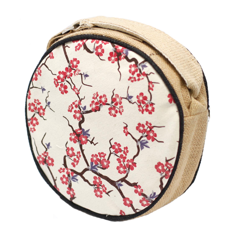 Eco Round Bags Cherry Blossom