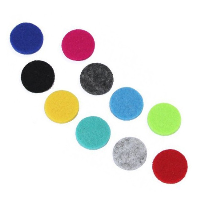 Aromatherapy Necklace Reusable Refill Pad 25mm
