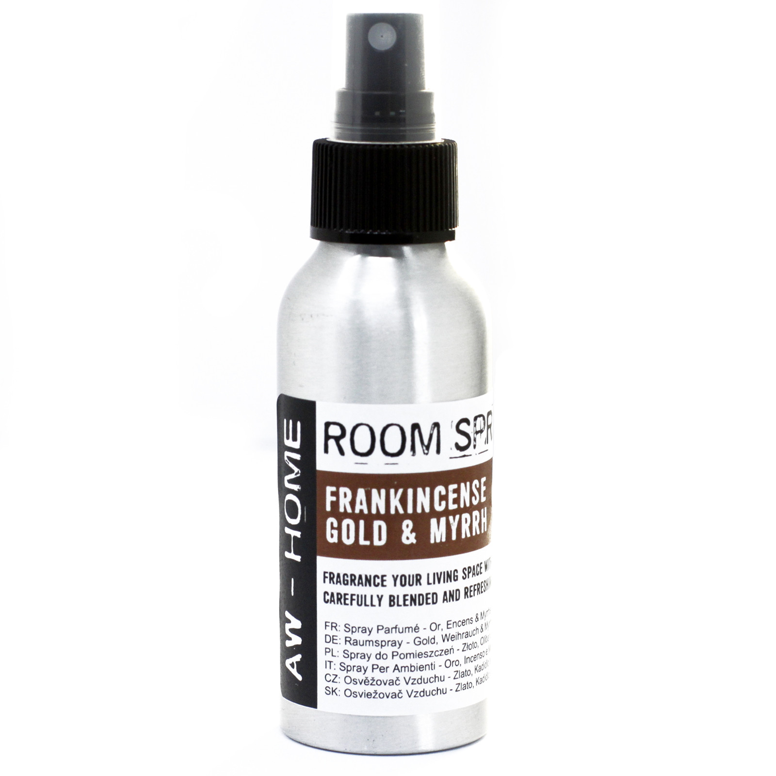 100ml Room Spray Gold Frankincense and Myrrh