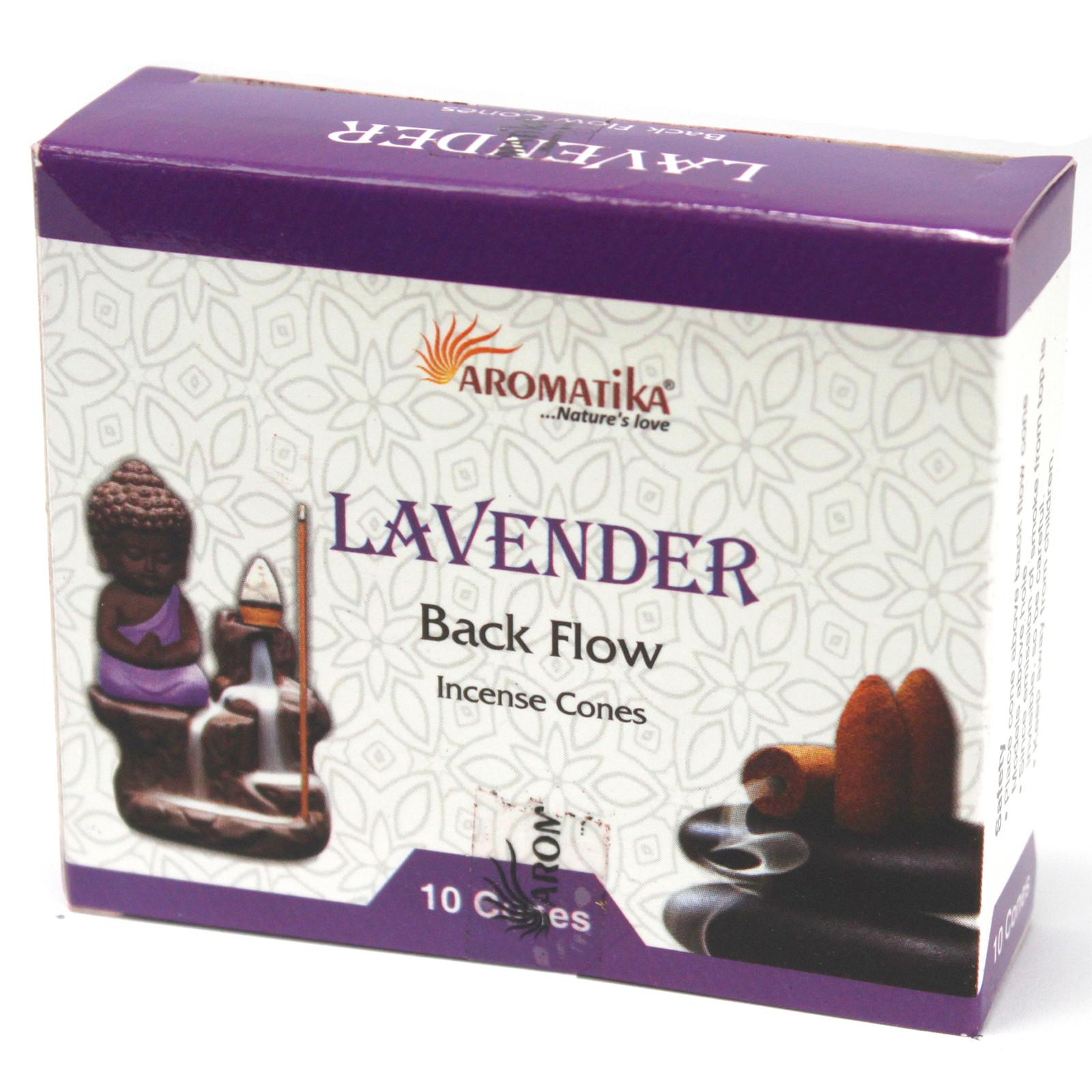 Aromatica Backflow Incense Cones Lavender