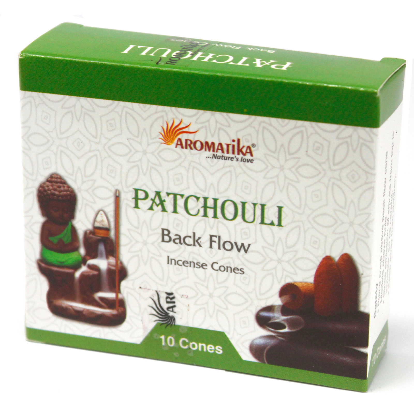 Aromatica Backflow Incense Cones Patchouli