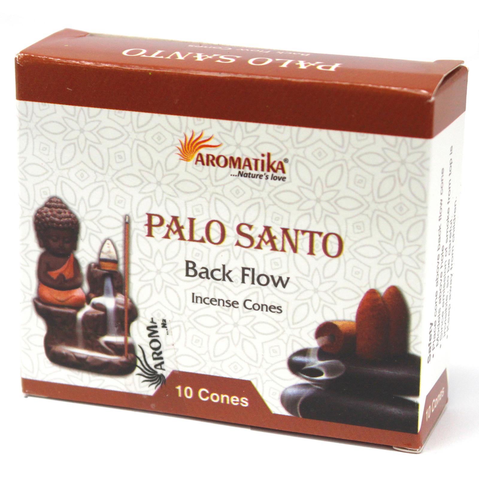 Aromatica Backflow Incense Cones Palo Santo