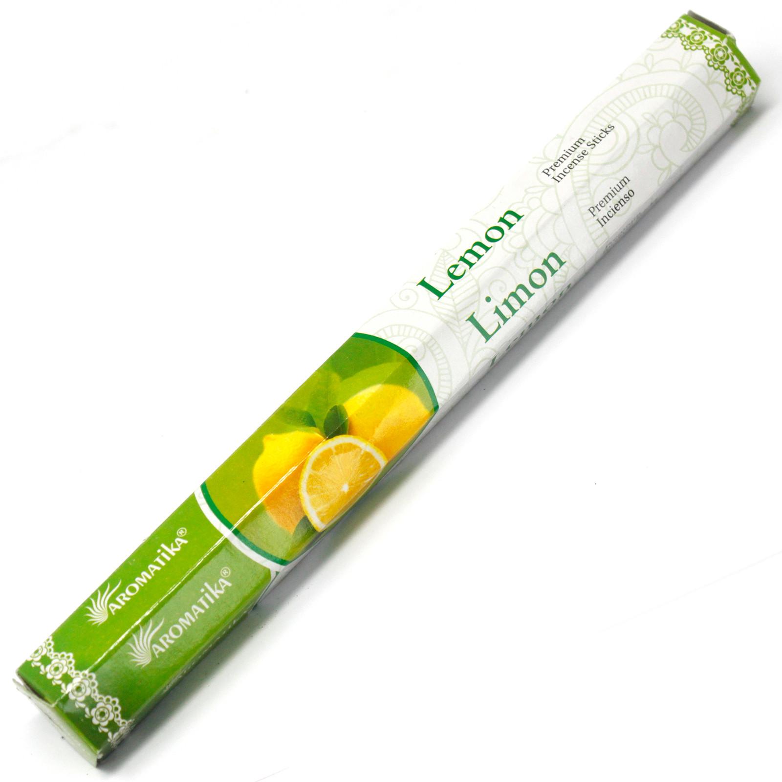 Aromatica Premium Incense Lemon