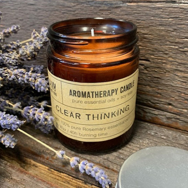 Aromatherapy Candle Clear Thinking
