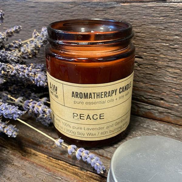 Aromatherapy Candle Peace