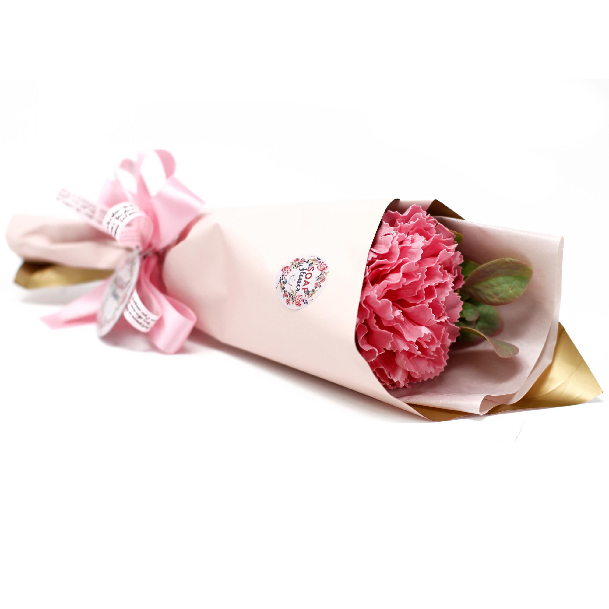 Soap Flower Carnation Bouquet