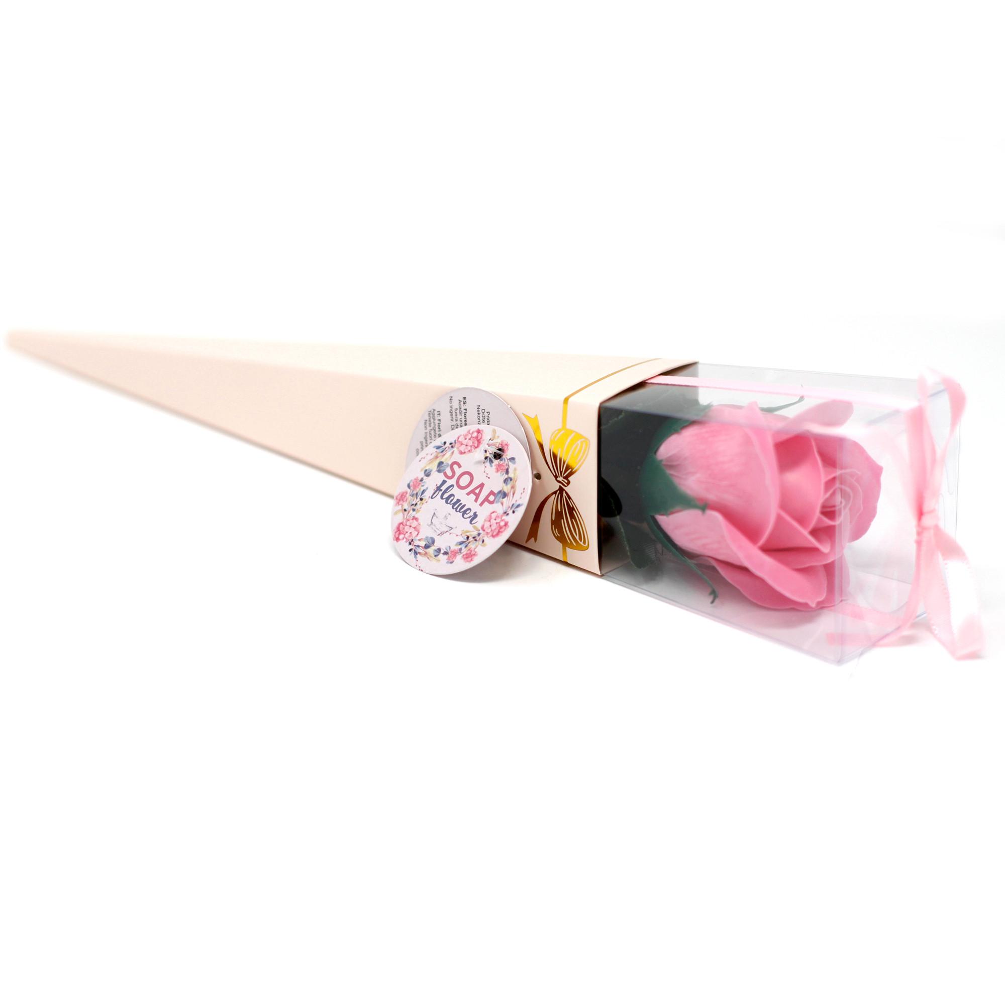 Soap Flower Medium Rose