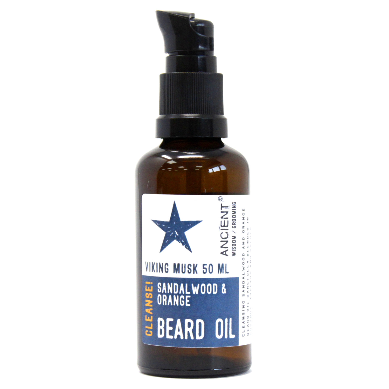 50ml Beard Oil Viking Musk Cleanse