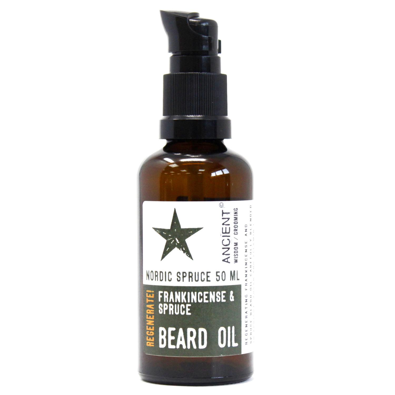50ml Beard Oil Nordic Spruce Regenerate