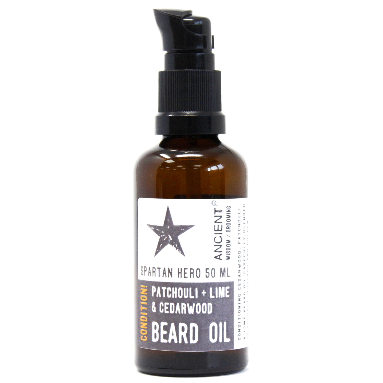 50ml Beard Oil Spartan Hero Condition