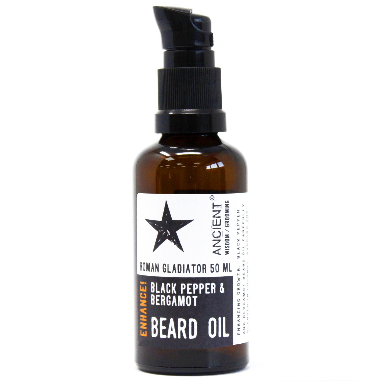50ml Beard Oil Roman Gladiator Enhance