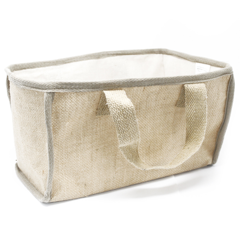 Lrg Shopping Basket 33x18x20cm Nat