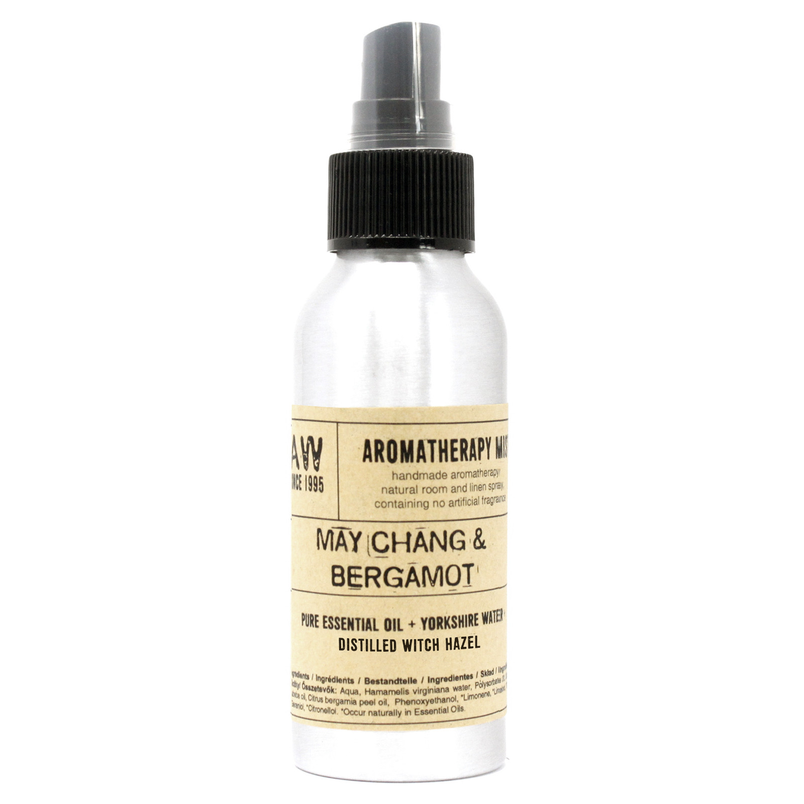 100ml Essential Oil Mist May Chang and Bergamot