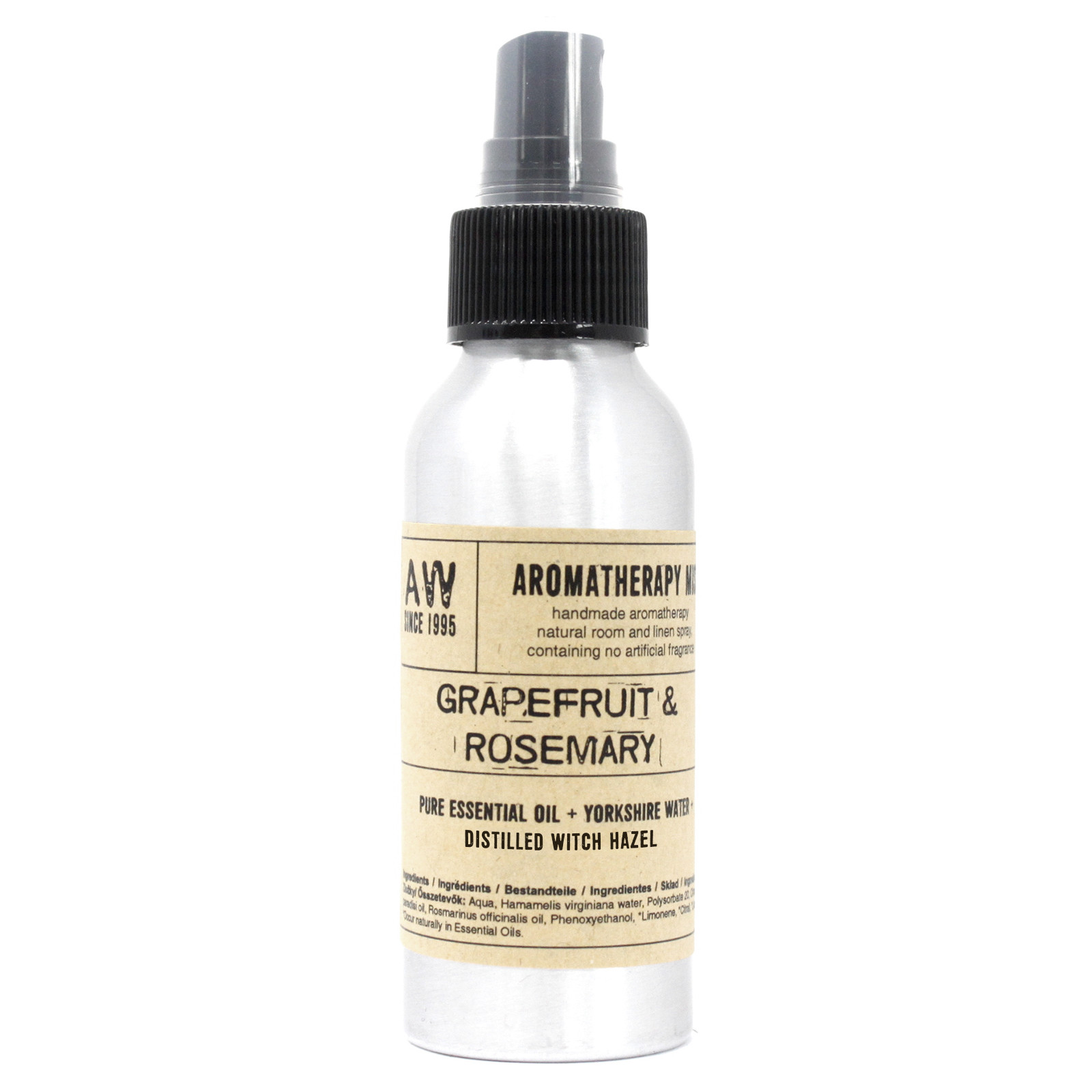100ml Essential Oil Mist Graperfruit and Rosemary