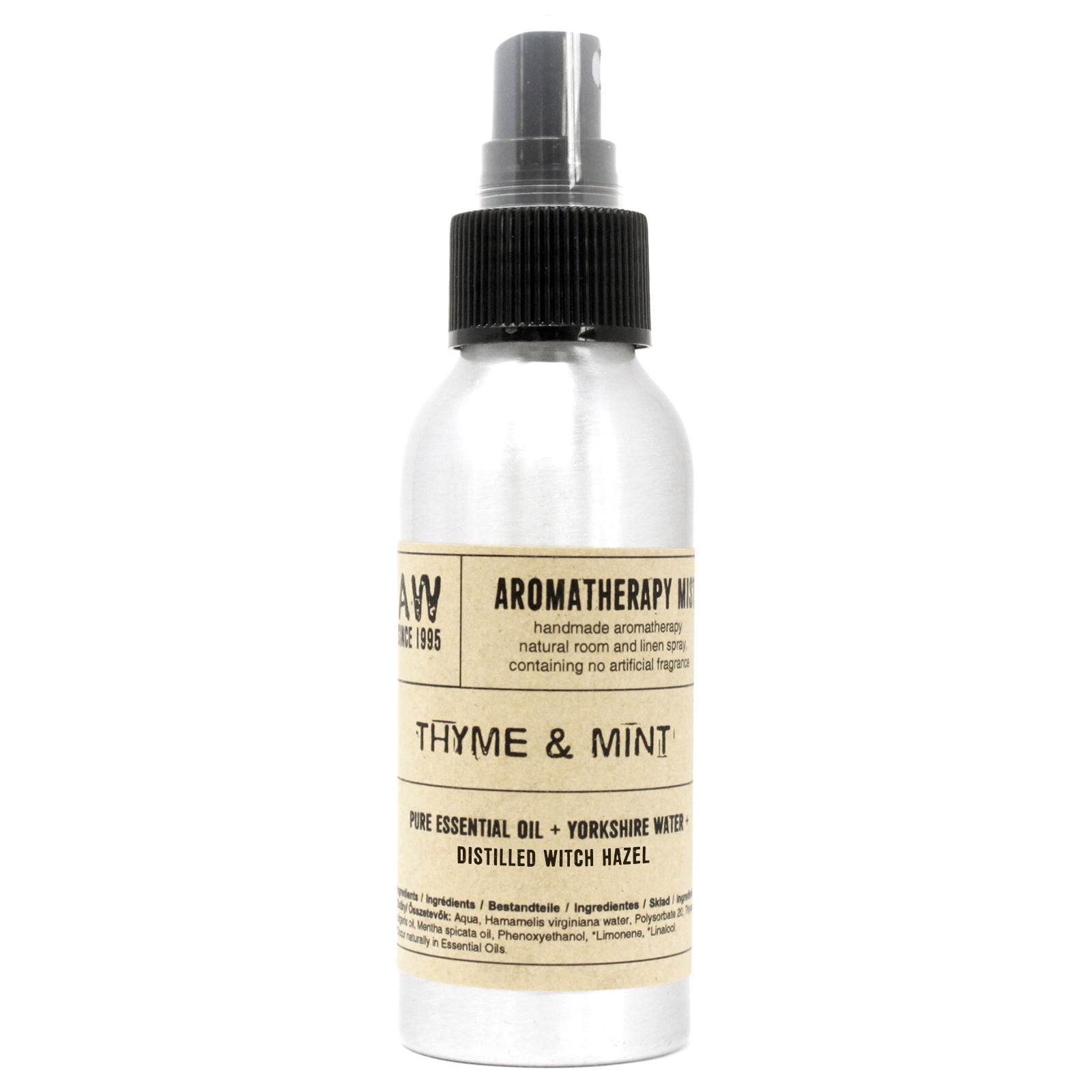 100ml Essential Oil Mist Thyme and Mint