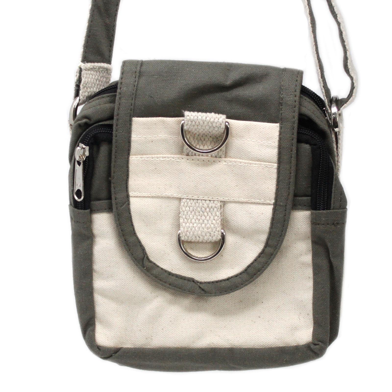 Natural Travel Bag Charcoal