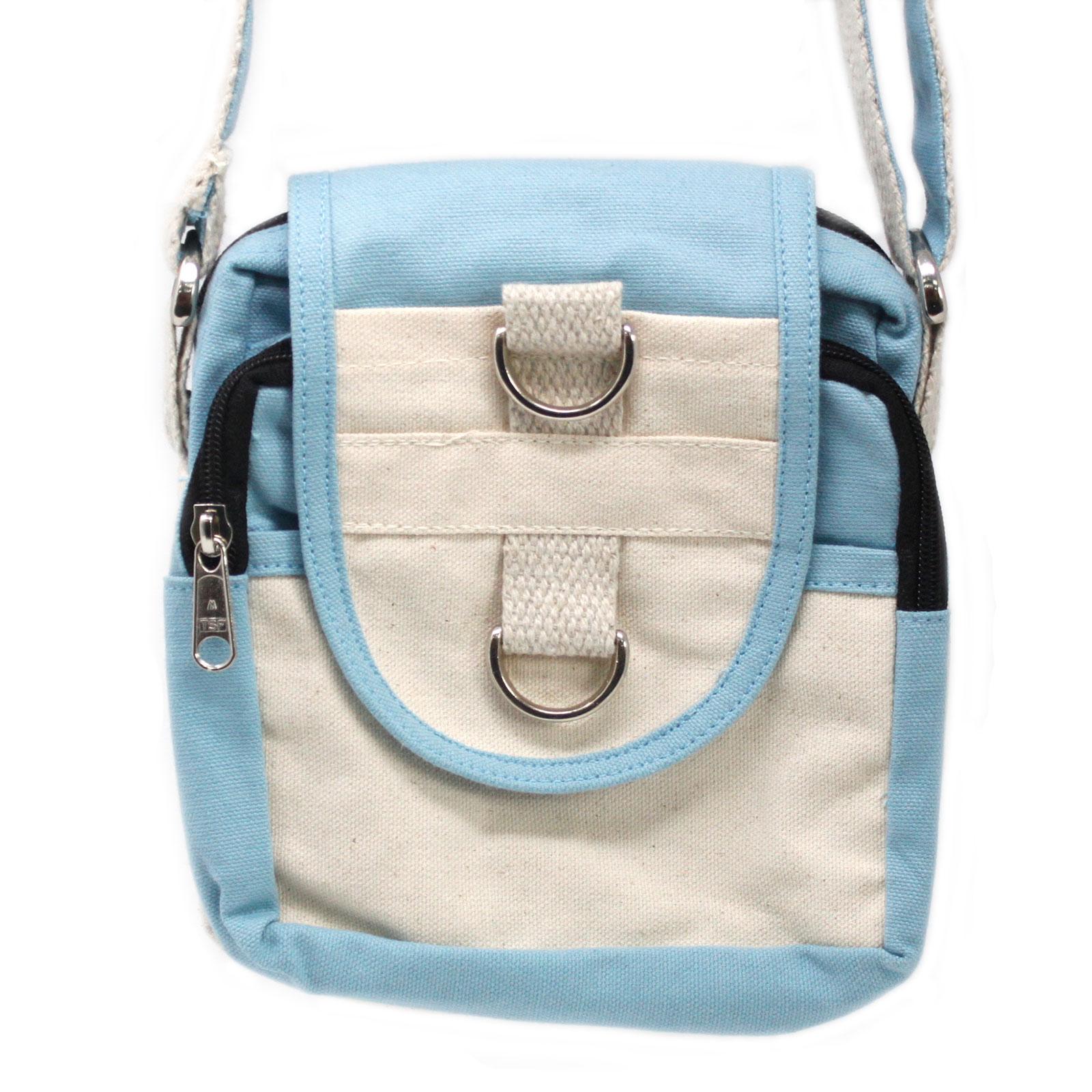 Natural Travel Bag Teal