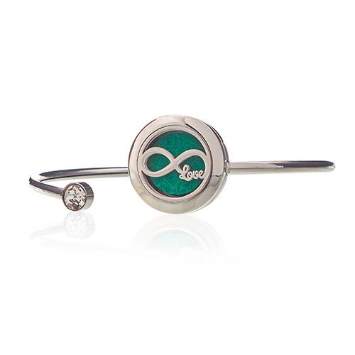 Aromatherapy Jewellery Crystal Bracelet Infinite Love 20mm