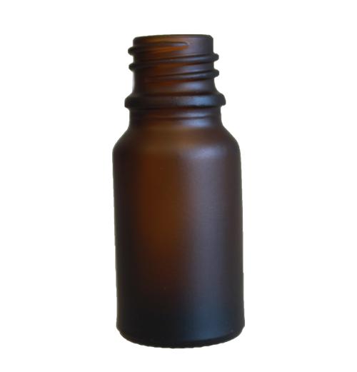 10ml Frost Amber Bottle