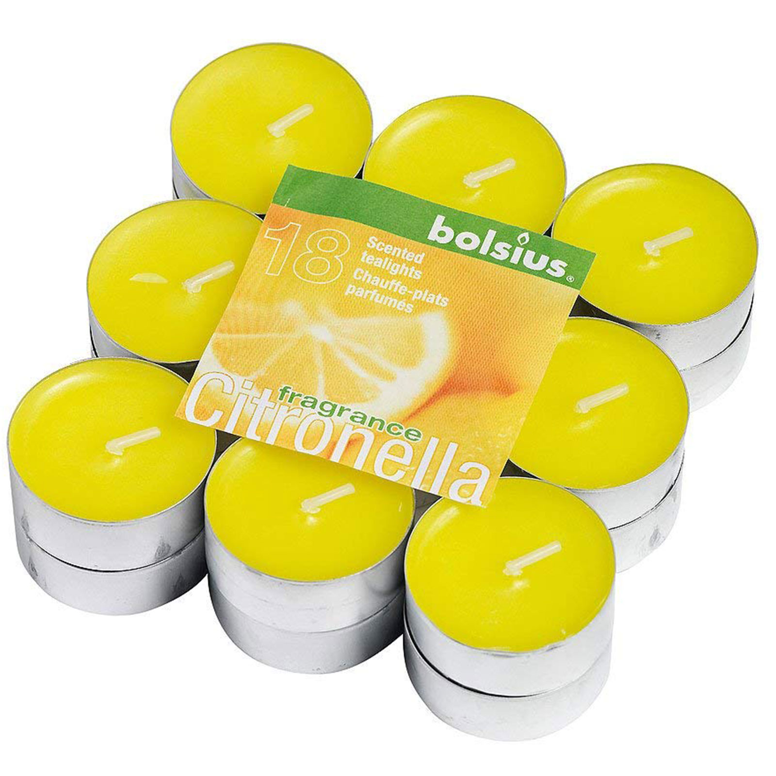Pack of 18 Citronella Tealights