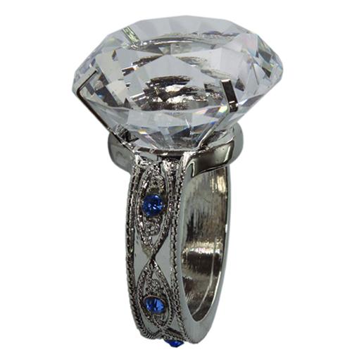 Crystal Napkin Ring Transparent