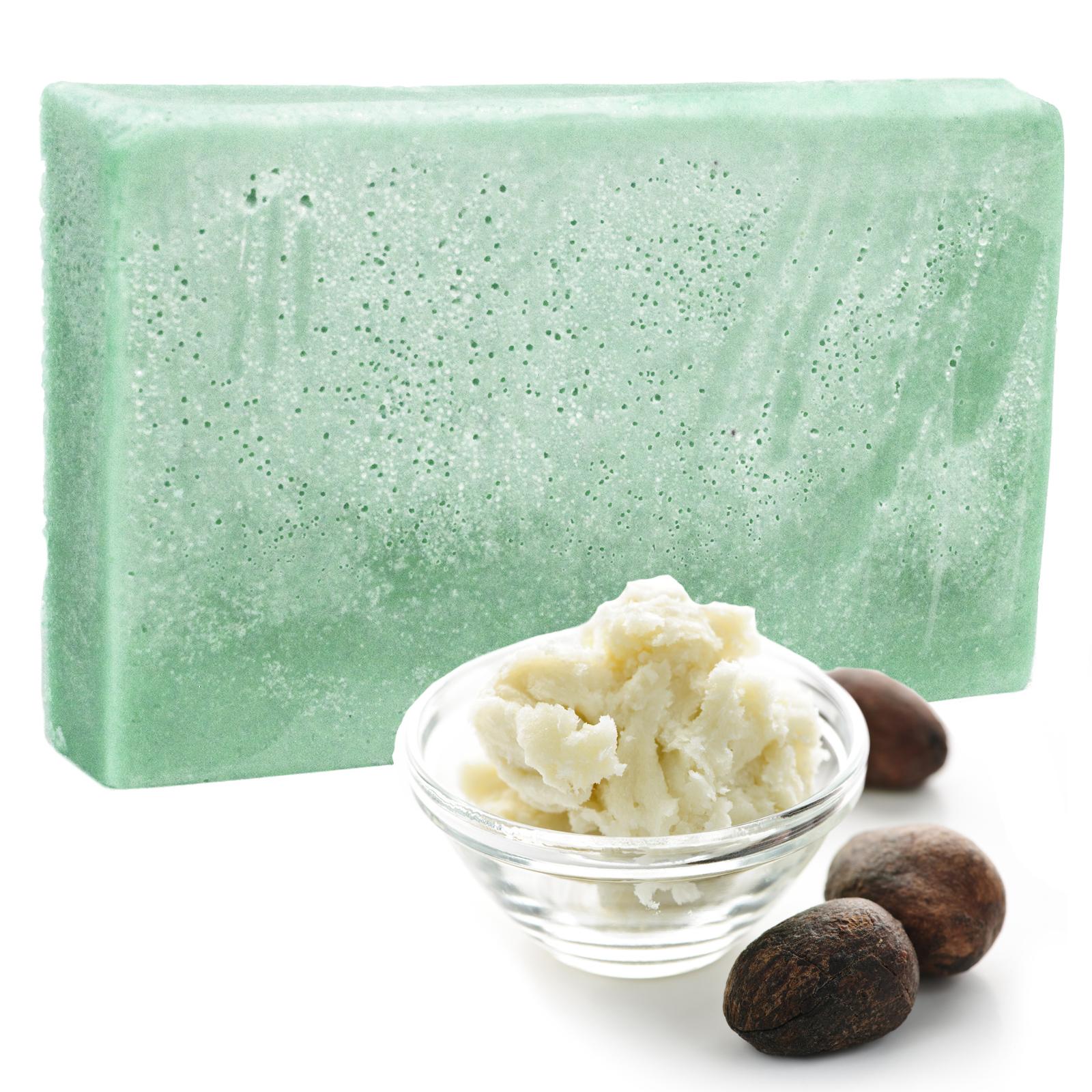 Double Butter Luxury Soap Minty Oils SLICE 100g