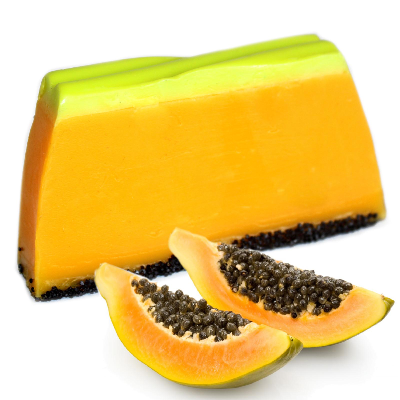 Tropical Paradise Soap Papaya SLICE approx 100g