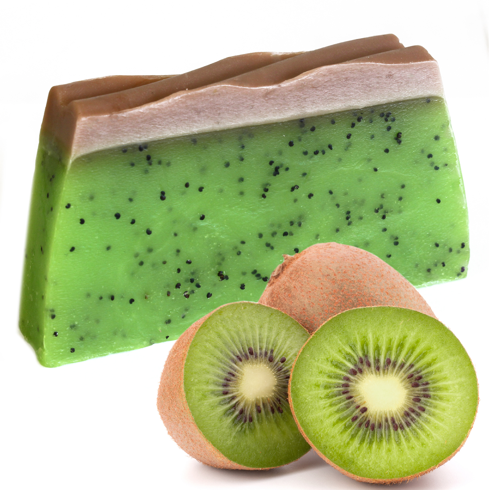 Tropical Paradise Soap Kiwifruit SLICE approx 100g