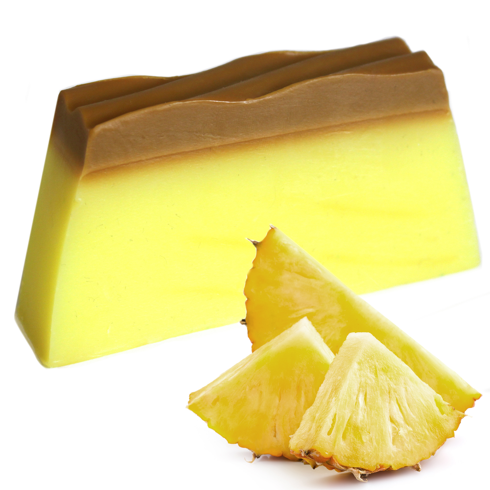 Tropical Paradise Soap Pineapple SLICE approx 100g