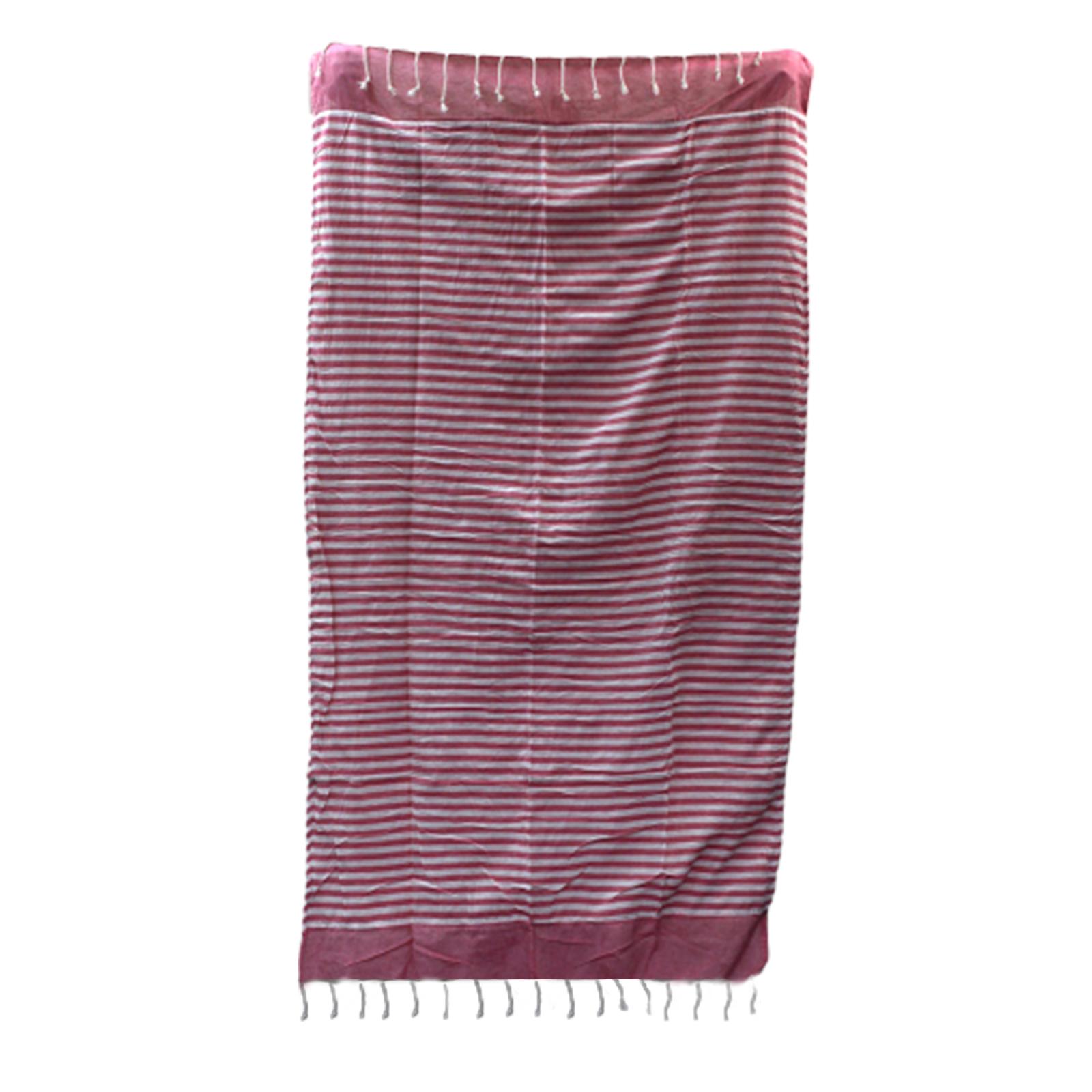 Cotton Pario Throw 100x180 cm Hot Pink