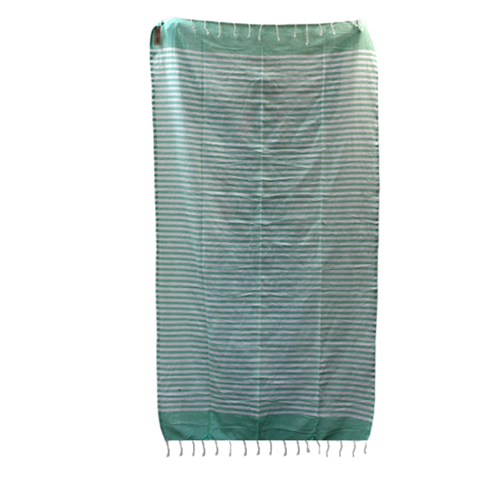 Cotton Pario Throw 100x180 cm Picnic Green