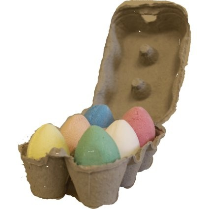 6x Bath Eggs in a Tray Mixed Tray