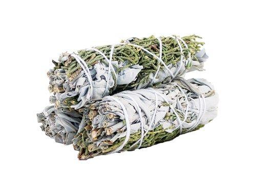 Smudge Stick White Sage and Juniper 10cm