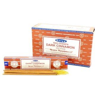 Satya Incense Sticks 15g Dark Cinammon