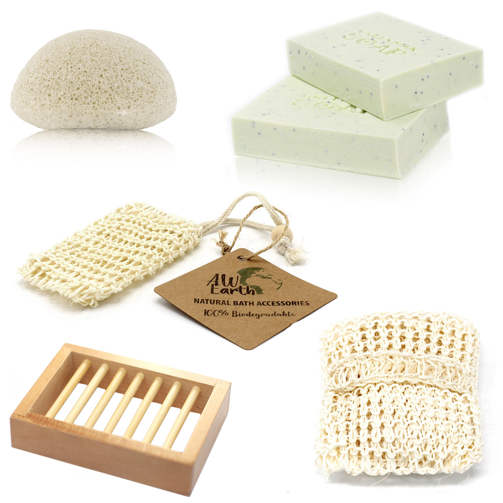Soap Sponge and Scrub Treat Box