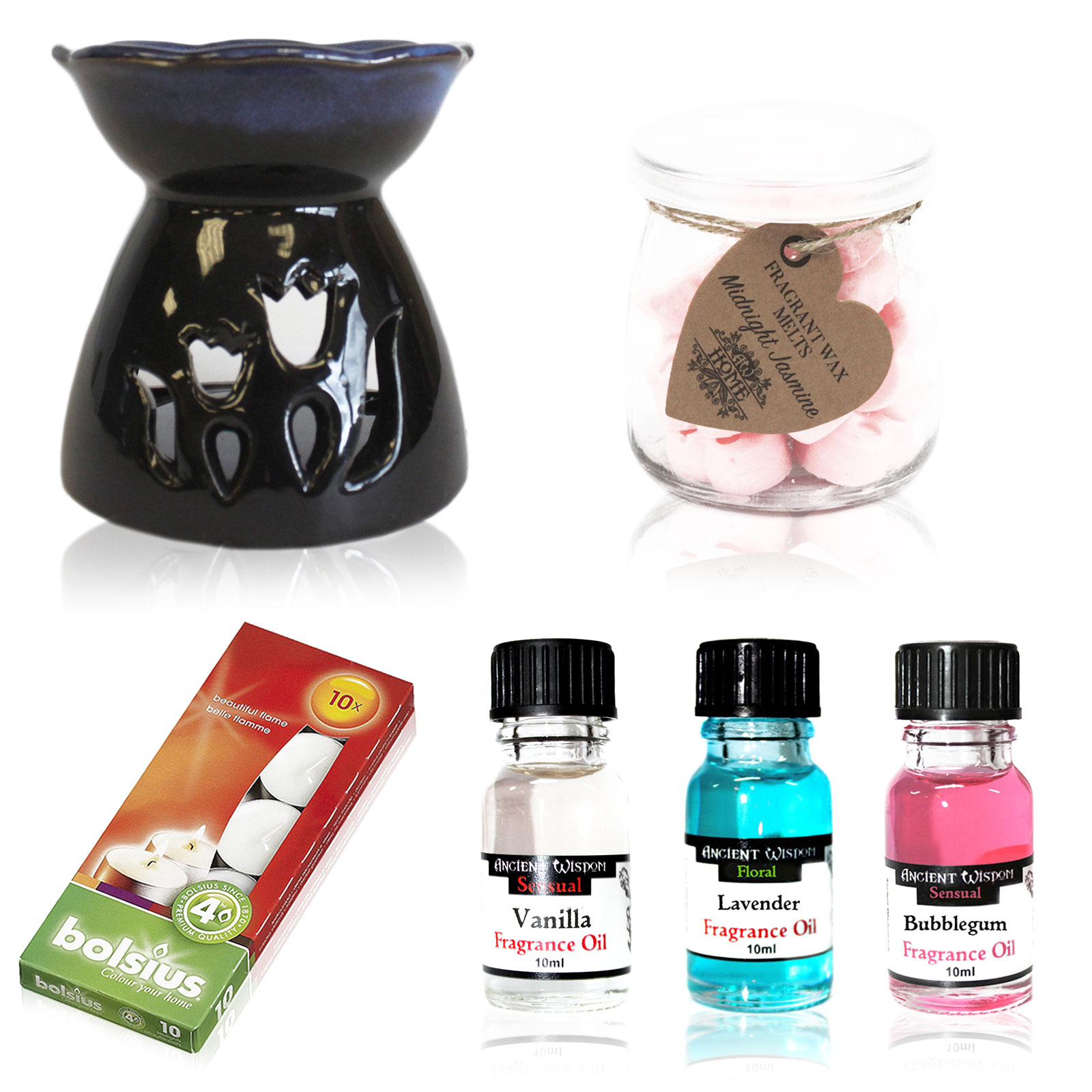 Oil Burner and Fragrance oils Kit