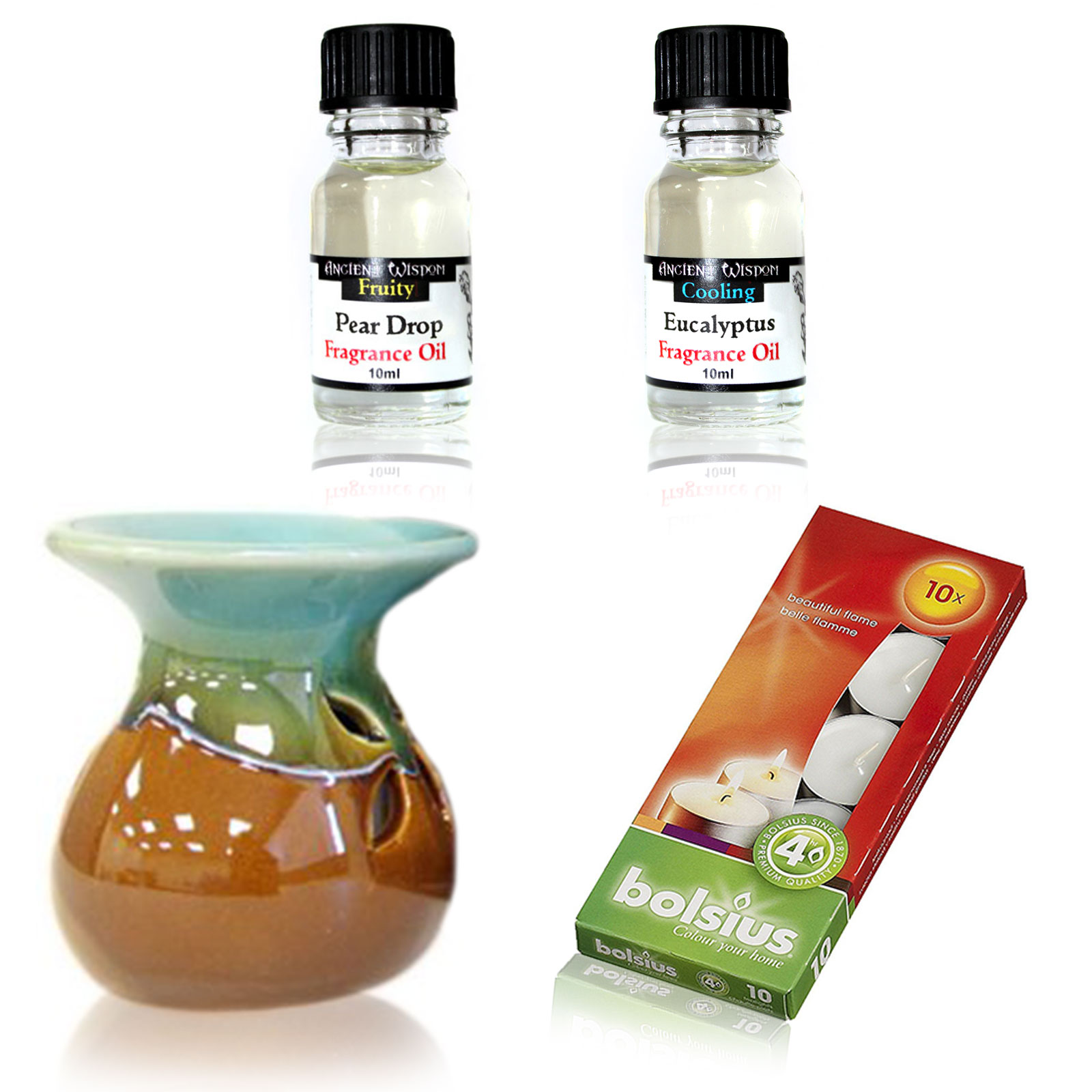 Oil Burner Kit Eucalyptus Pear Drop