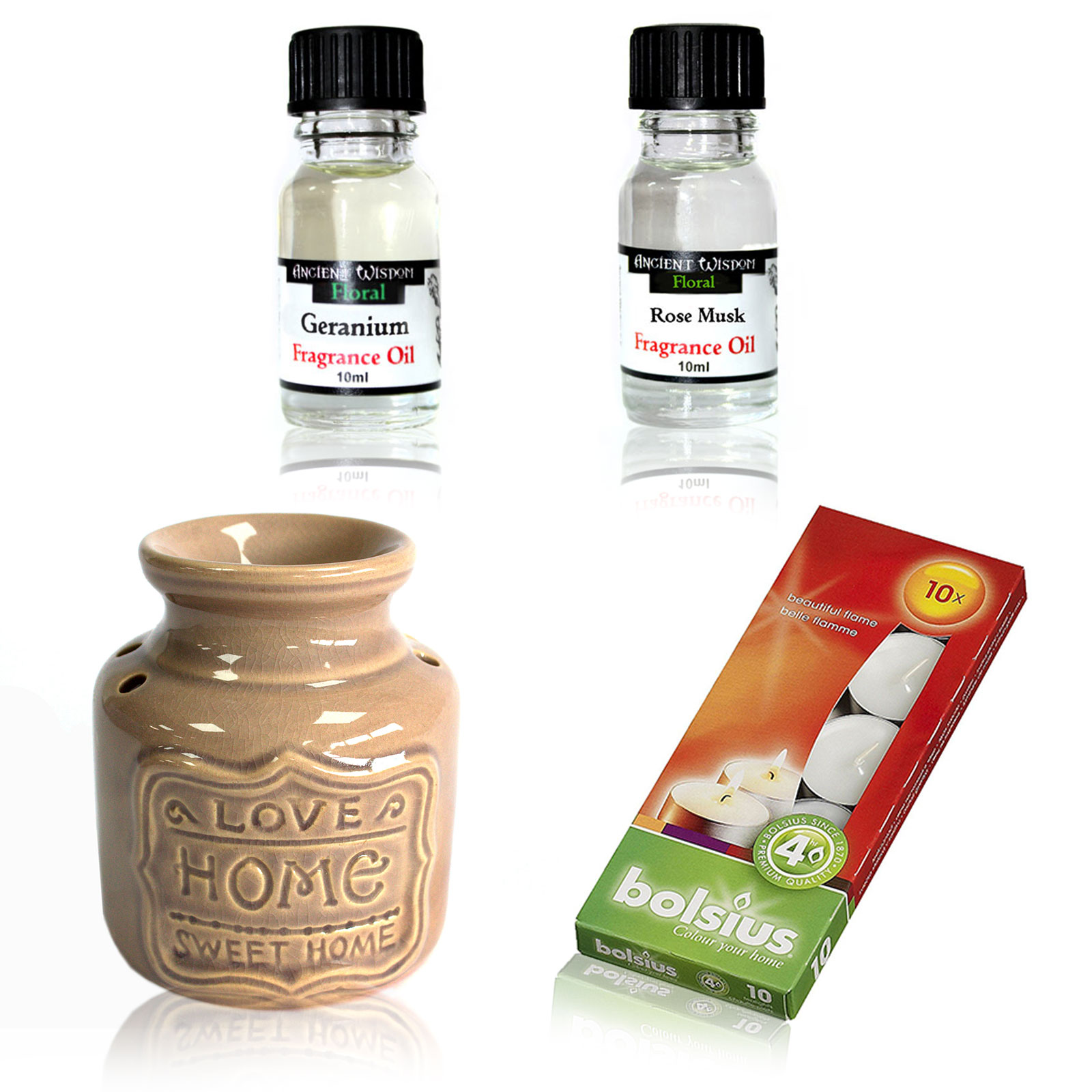 Home Oil Burner and Fragrance Oils Kit