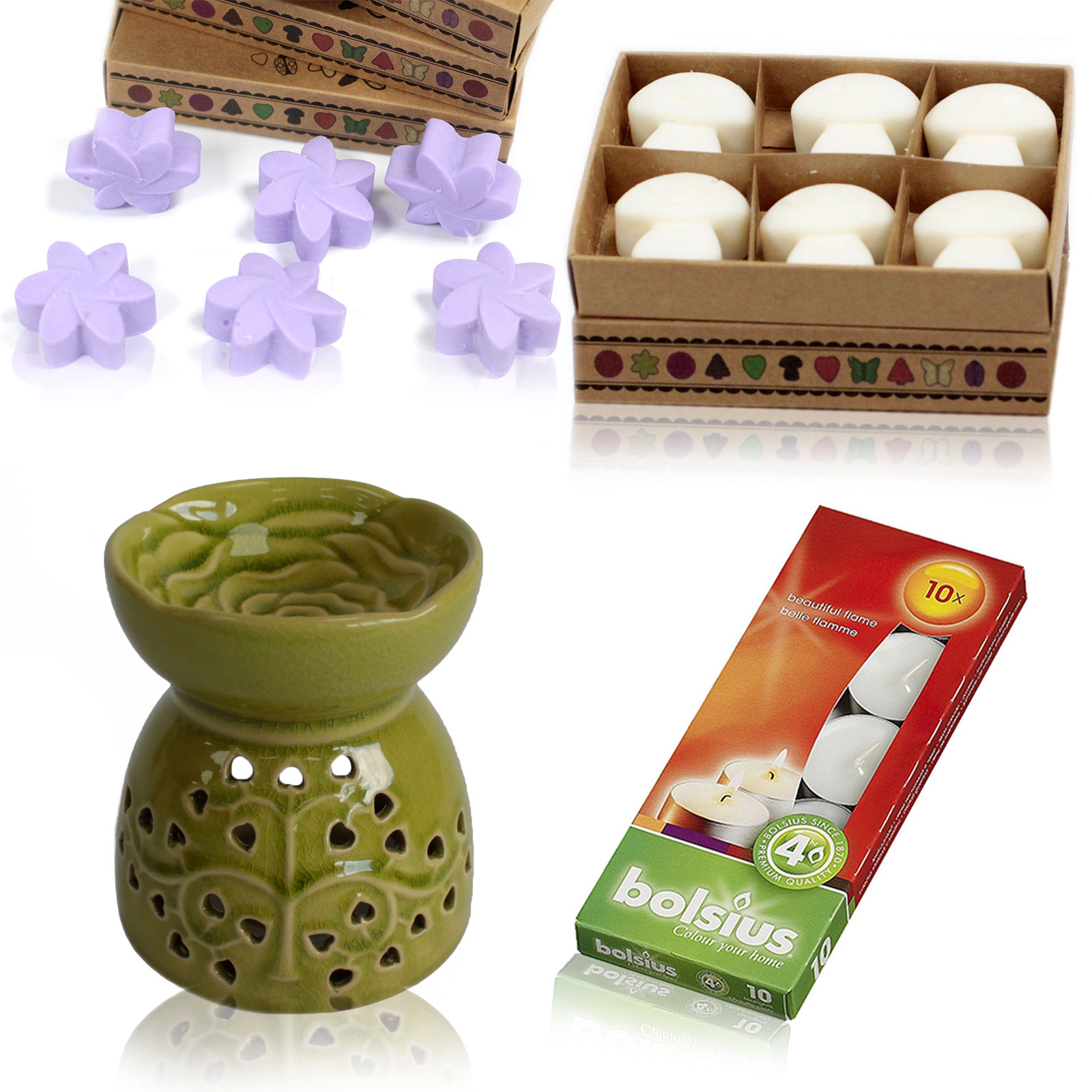 Oil Burner and Wax Melts Kit