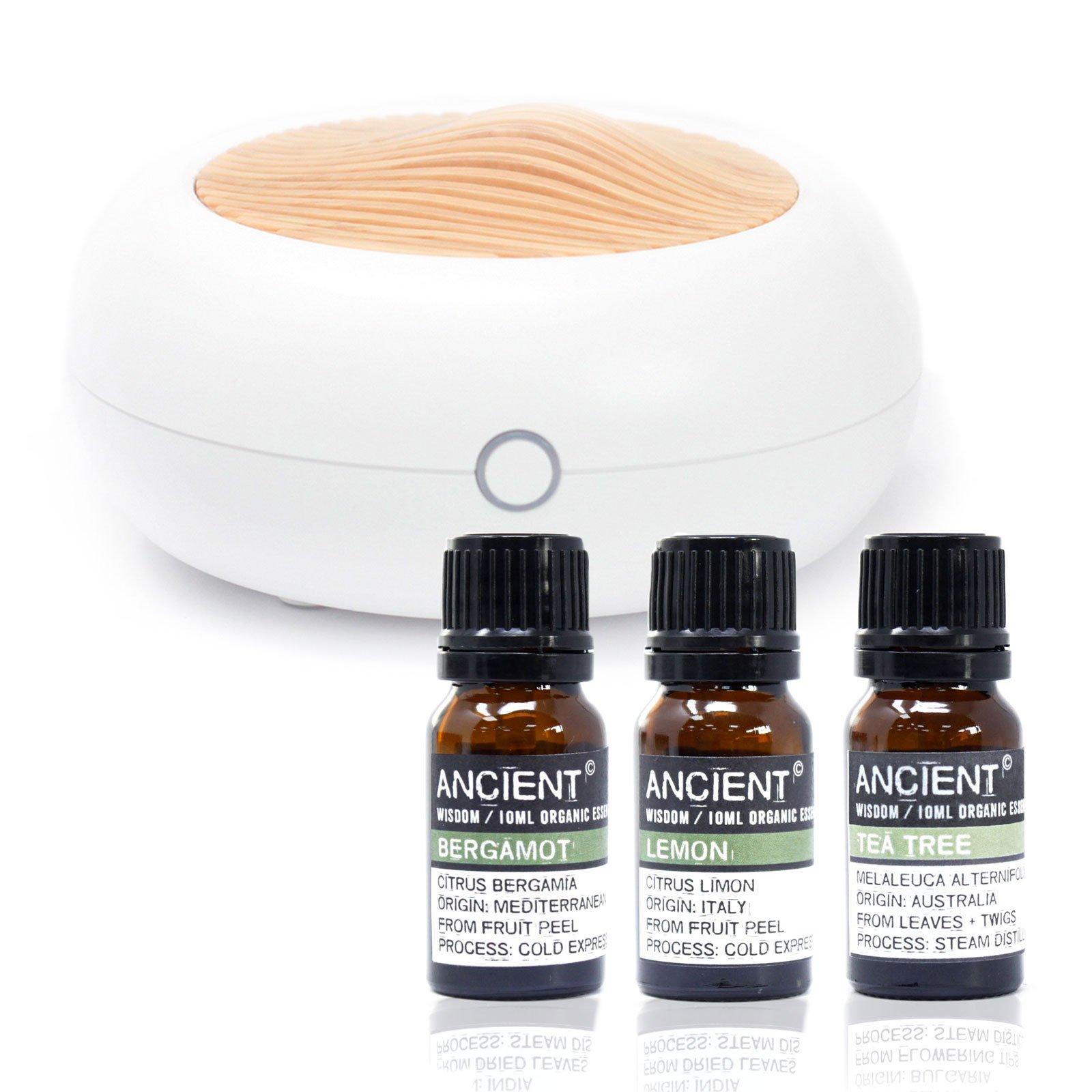 Norwegian Aroma Diffuser Organic oils Set
