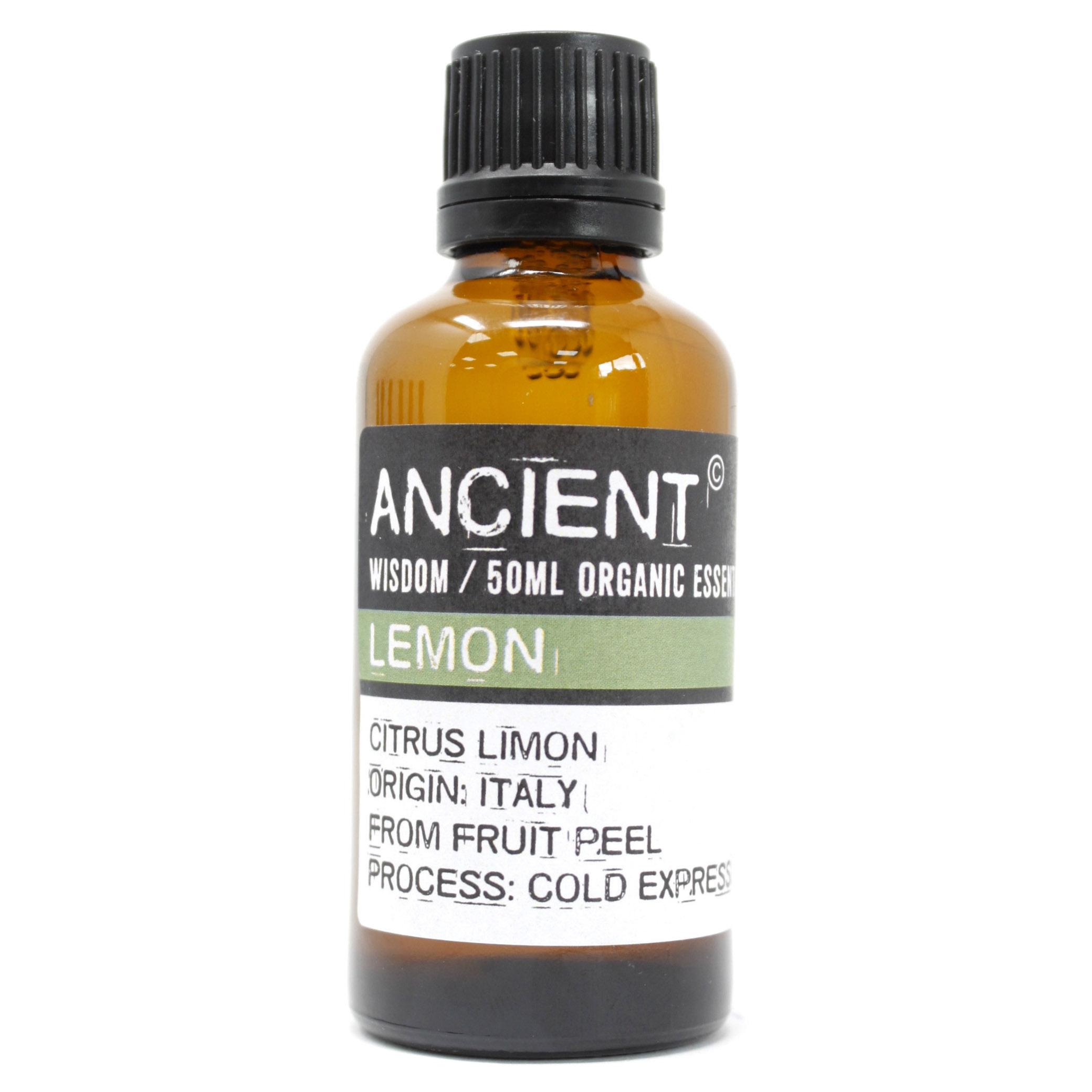 Lemon Organic Essential Oil 50ml