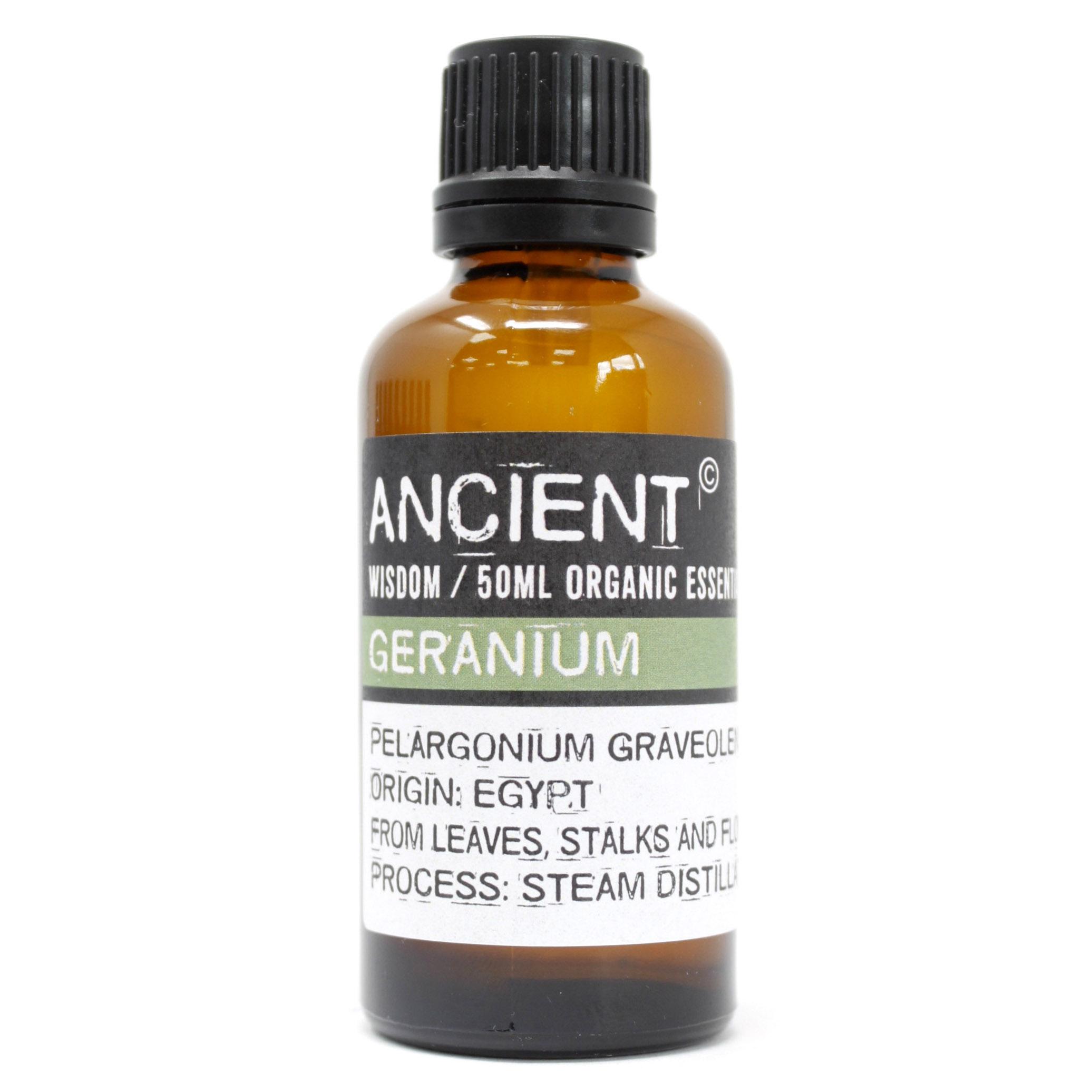 Geranium Organic Essential Oil 50ml