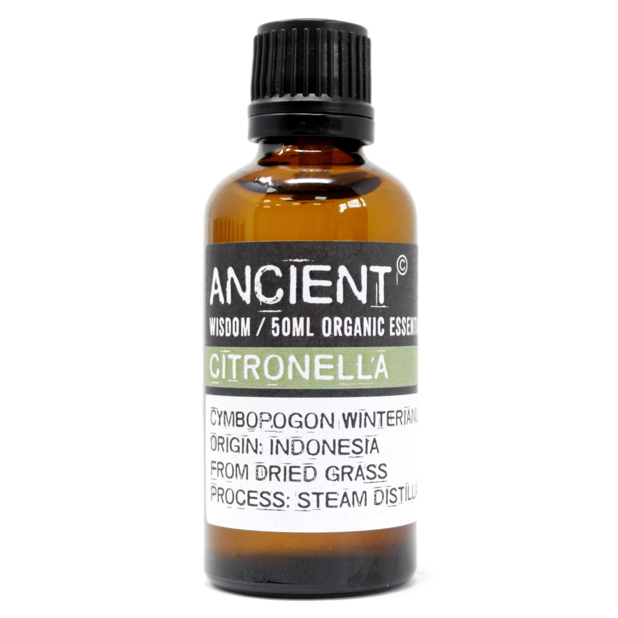 Citronella Organic Essential Oil 50ml